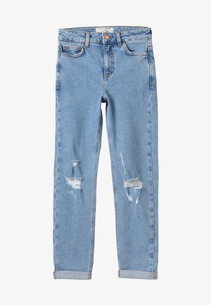 MOM COMFORT STRETCH - Jean boyfriend - light blue