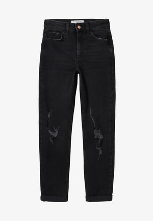 MOM COMFORT STRETCH - Jeans Relaxed Fit - black