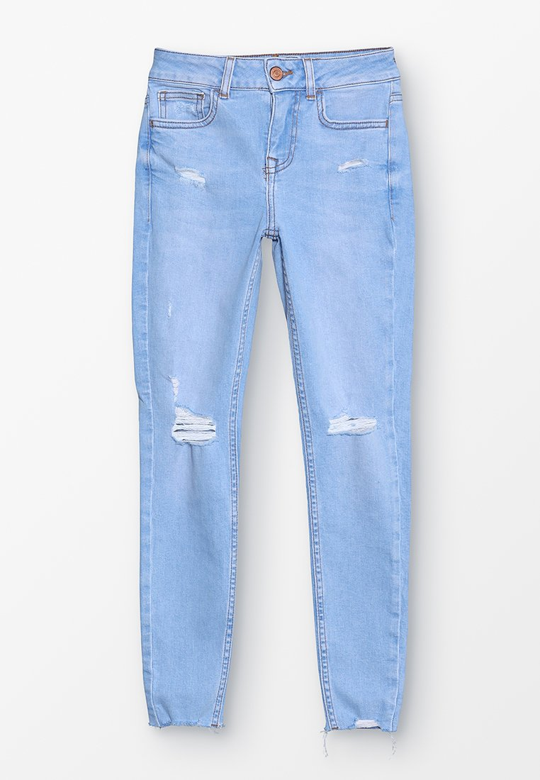 New Look 915 Generation - KAZ PRETTY BLEACH RIPPED - Jeans Skinny Fit - light blue