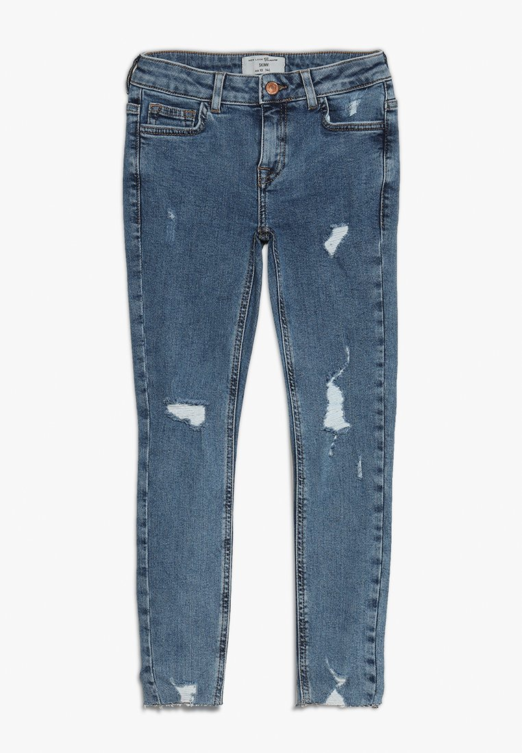 New Look 915 Generation - LAURA RIPPED - Jeans Skinny Fit - light blue