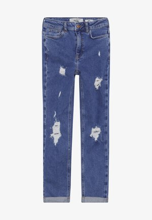 COMFORT RIP MOM - Relaxed fit jeans - bright blue