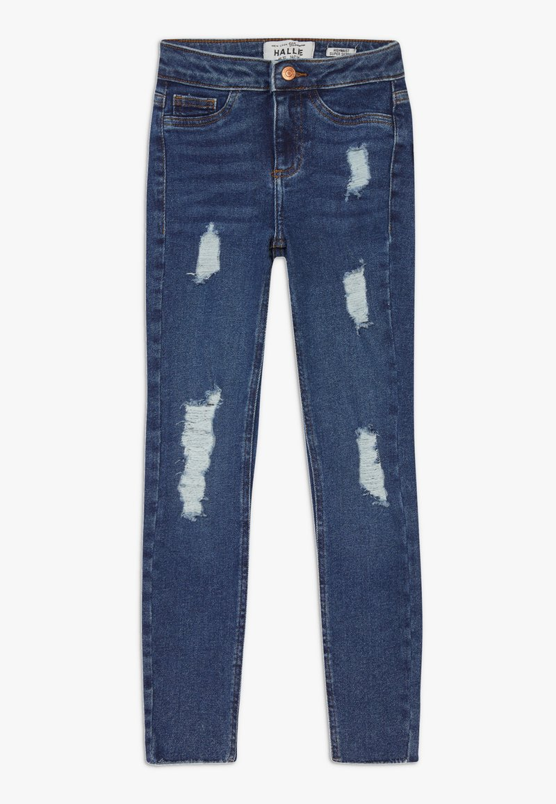 New Look 915 Generation - BAMBI DARK MID DISCO - Jeans Skinny - navy