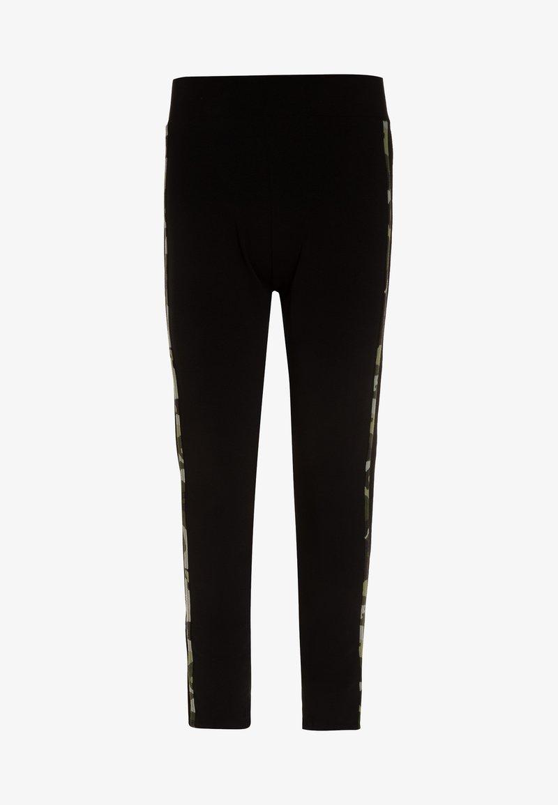 New Look 915 Generation - DOUBLE SIDE STRIPE CAMO - Leggings - black