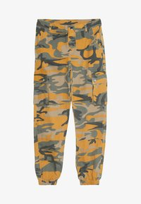 New Look 915 Generation - CAMO CARGO PANT - Jeans Relaxed Fit - yellow - 5
