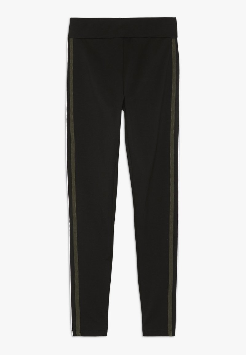 New Look 915 Generation - SIDE STRIPE AND PIPPING - Legging - black