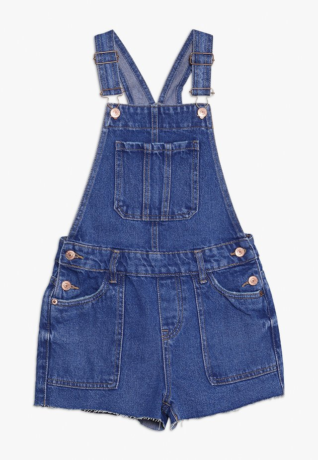 SELINA DUNGAREE - Dungarees - bright blue