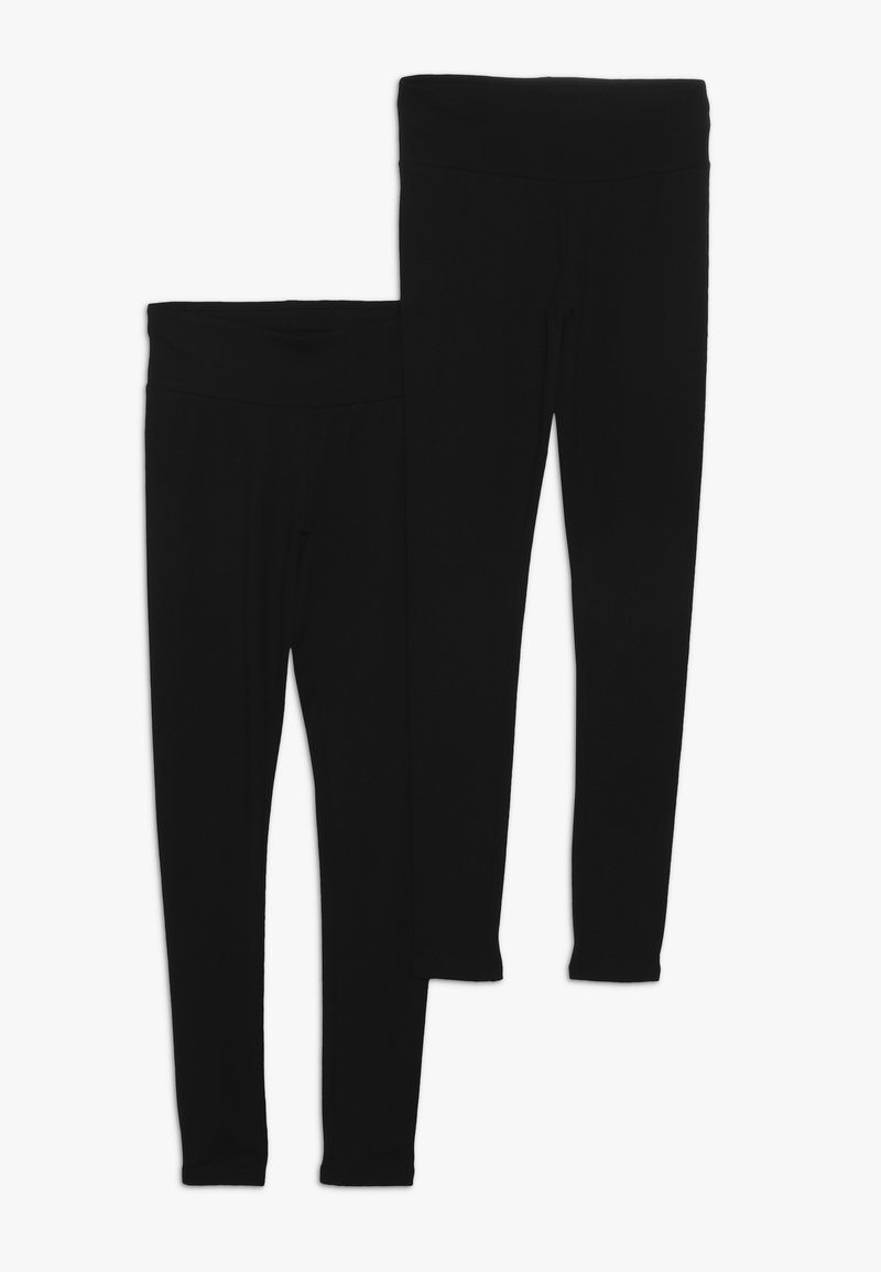 New Look 915 Generation - BASIC 2 PACK  - Leggings - black