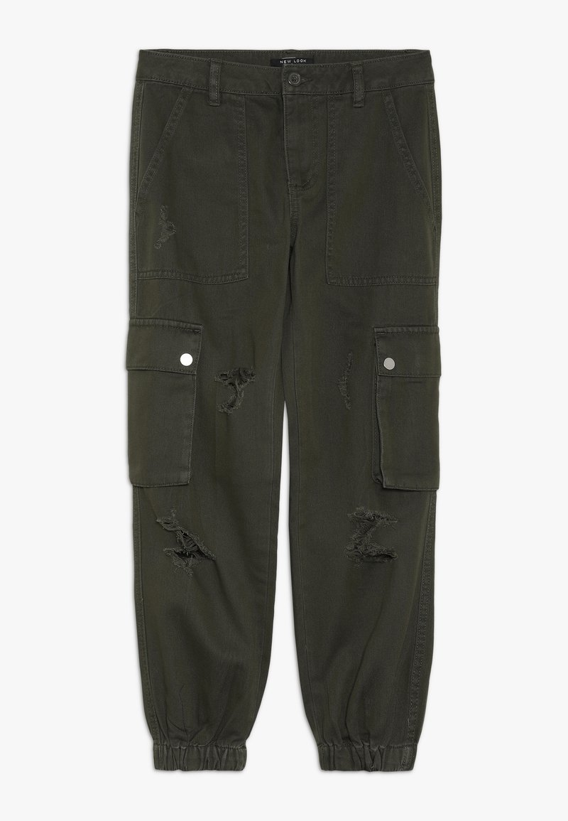New Look 915 Generation - JACKIE RIPPED TROUSER - Kapsáče -  dark khaki