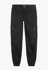 New Look 915 Generation - JACKIE RIPPED TROUSER - Kapsáče - black - 0