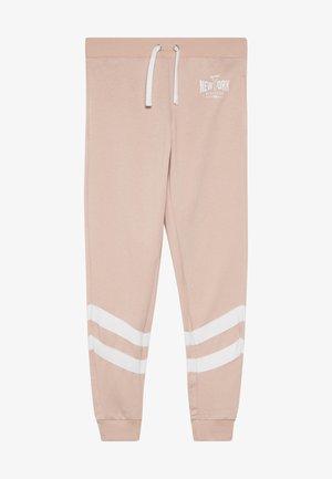 STRIPE LEG LOGO - Teplákové kalhoty - light pink