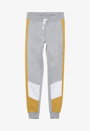 COLOUR BLOCK SIDE STRIPE - Pantalon de survêtement - mid grey