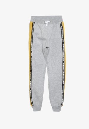BOSTON SIDE TAPE JOGGER - Pantalon de survêtement - mid grey