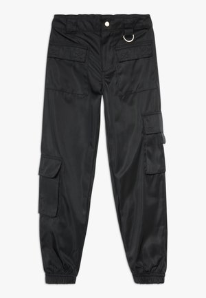 JEN MULTI POCKET TROUSER - Pantalones cargo - black