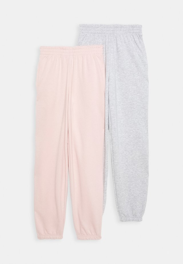CUFFED 2 PACK - Jogginghose - pink