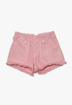 UTILITY POCKET BUTTON - Shorts vaqueros - bright pink