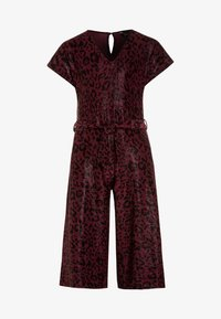 New Look 915 Generation - LEOPARD SHIMMER PEGGY - Jumpsuit - red - 0