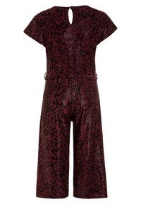 New Look 915 Generation - LEOPARD SHIMMER PEGGY - Jumpsuit - red - 1