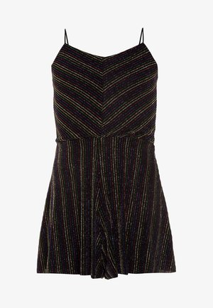 RAINBOW SHIMMER STRAPPY PLAYSUIT - Mono - multicolor
