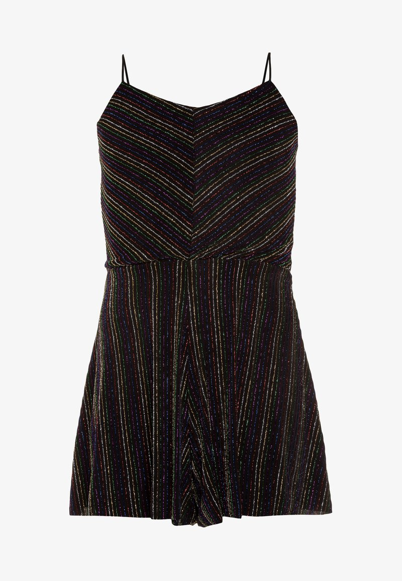 New Look 915 Generation - RAINBOW SHIMMER STRAPPY PLAYSUIT - Mono - multicolor