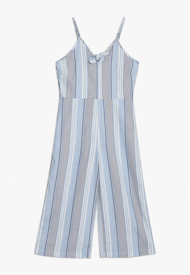 New Look 915 Generation - STRIPE TIE FRONT - Overall / Jumpsuit /Buksedragter - blue