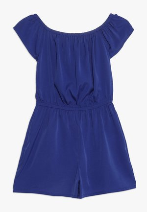 PLAIN BARDOT PLAYSUIT - Haalari - mid blue