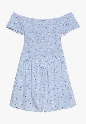 NORA SHIRRED - Jumpsuit - blue