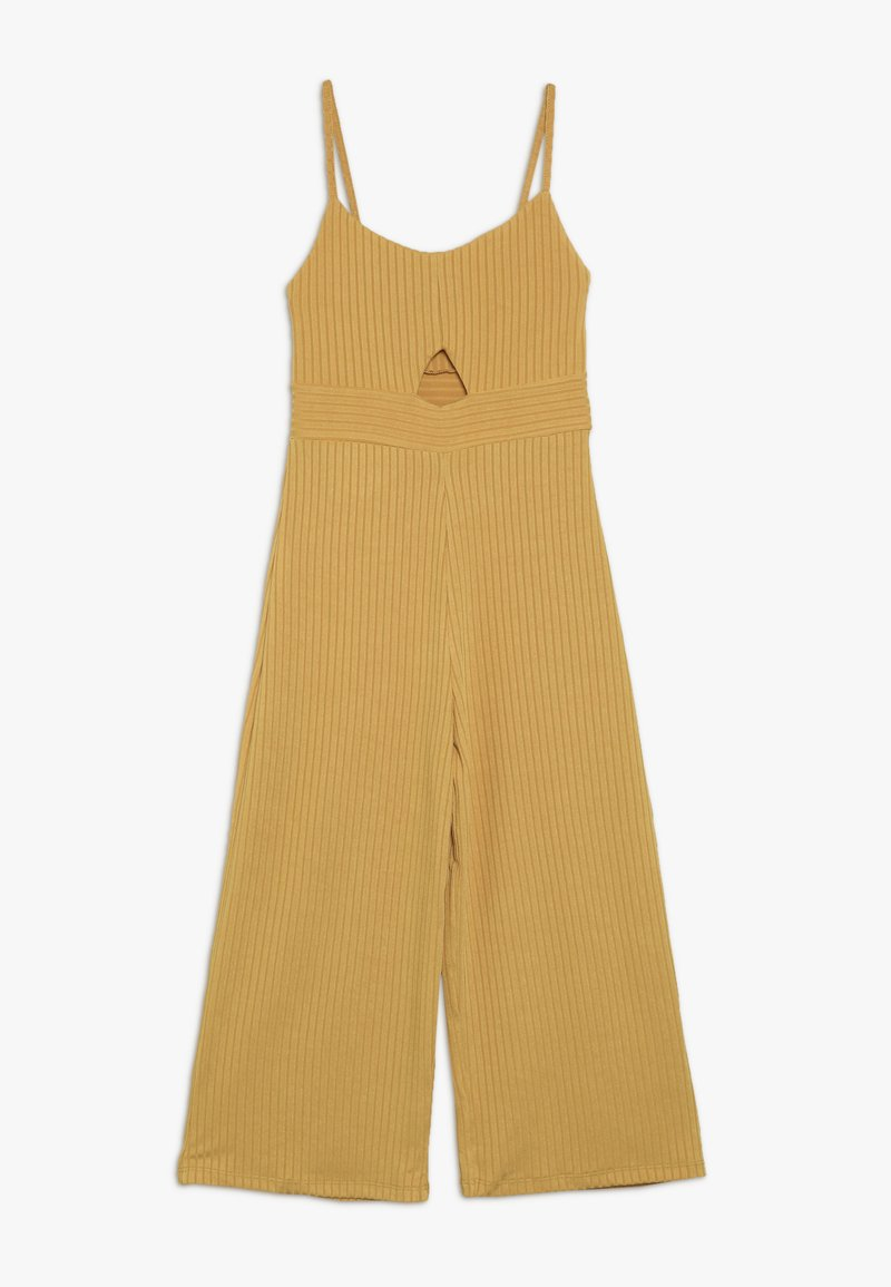 New Look 915 Generation - PLAIN CUTOUT  - Overall / Jumpsuit /Buksedragter - mustard