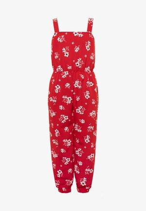 MYLENE CUFF LEG - Jumpsuit - red