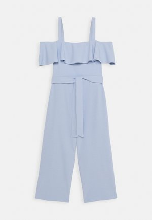 FRILL BELTED - Overal - light blue