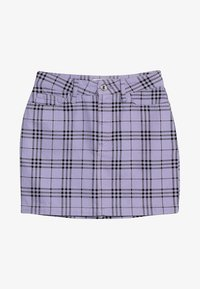 New Look 915 Generation - CHECK SKIRT - Gonna a campana - lilac - 3