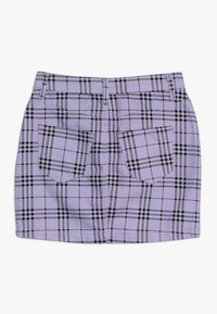 New Look 915 Generation - CHECK SKIRT - Gonna a campana - lilac - 1