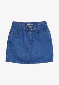 New Look 915 Generation - BELTED DENIM SKIRT - Denimová sukně - bright blue - 2