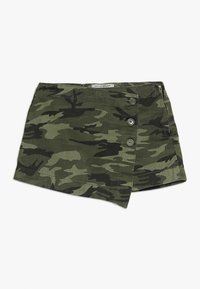 New Look 915 Generation - CAMO SKORT - Mini skirt - green - 0
