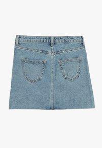 New Look 915 Generation - PARIS BUTTON THROUGH - Denimová sukně - light blue - 1