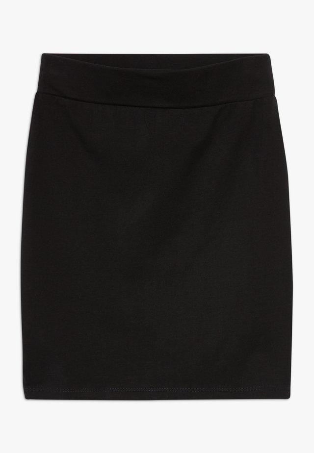 TUBE SKIRT - Minirock - black