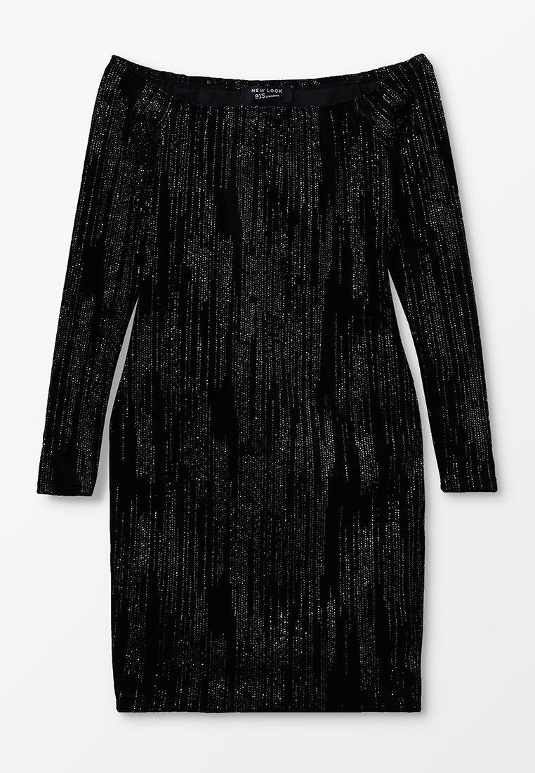 New Look 915 Generation - GLITTER - Vestido de cóctel - black
