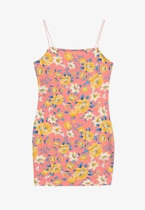 LEAD IN AMBER BODYCON - Jerseykleid - pink