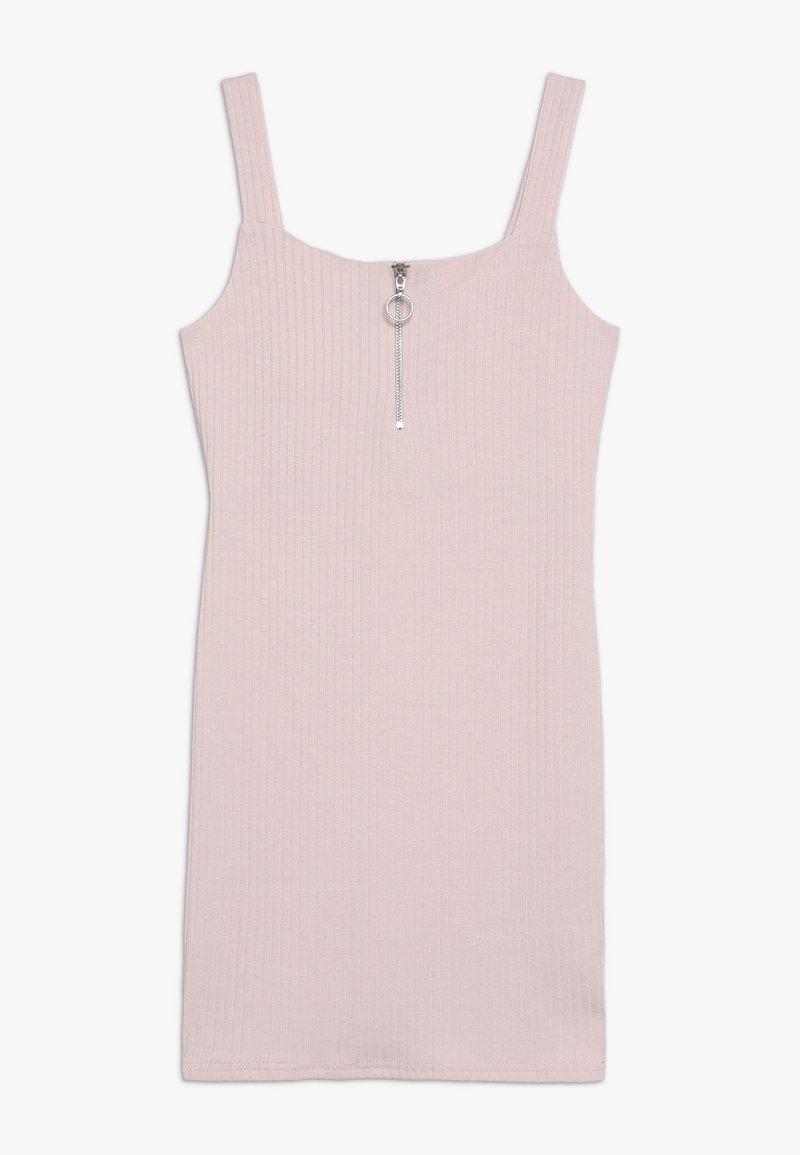 New Look 915 Generation - ZIP FRONT - Vestito di maglina - nude