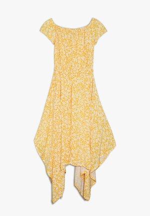 BEX BOB DOT HANKY HEM - Freizeitkleid - yellow