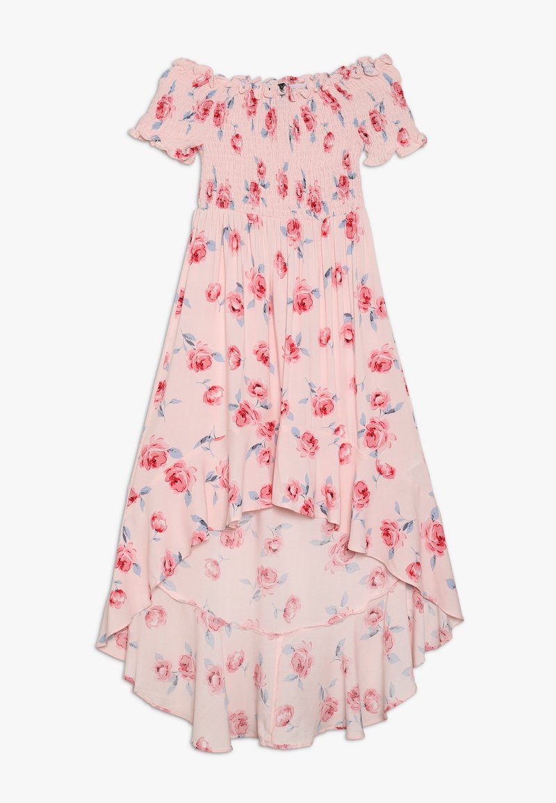 New Look 915 Generation - JEMIMA BOB SHIRRED HI LOW DRESS - Denní šaty - black/white/pink