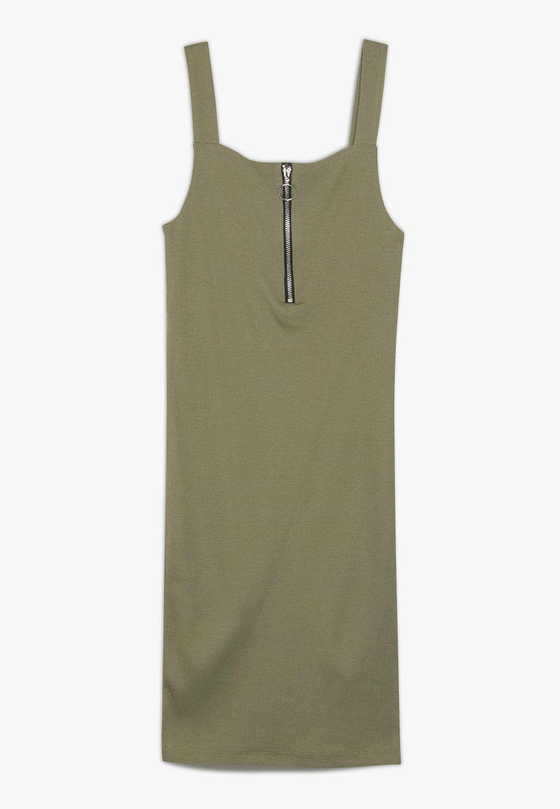 New Look 915 Generation - ZIP PINNY  - Jerseyklänning - green