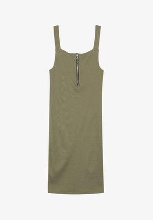ZIP PINNY  - Žerzejové šaty - green