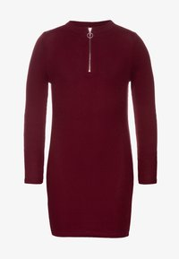 New Look 915 Generation - LEAD IN ZIP - Robe pull - dark red - 0