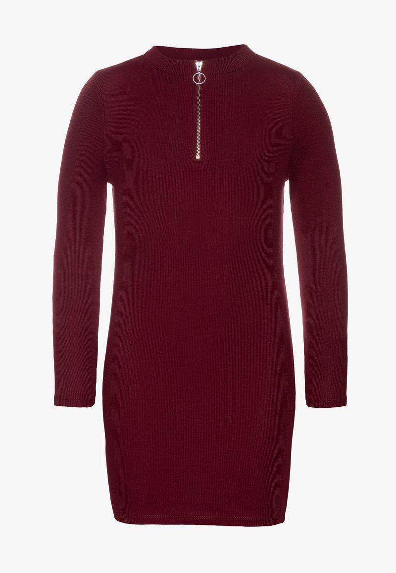 New Look 915 Generation - LEAD IN ZIP - Robe pull - dark red