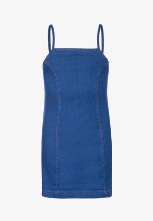 PRINCESS SEAM DRESS - Vestito di jeans - mid blue