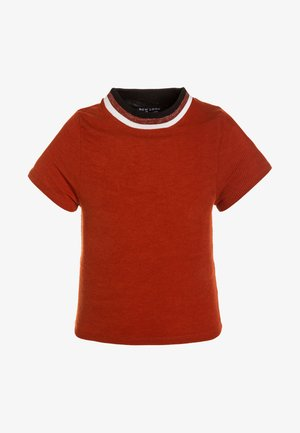 NECK TIPPING TEE - T-shirt print - burnt orange