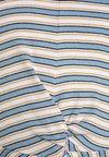 New Look 915 Generation - VALENTINE STRIPE TWIST FRONT TEE - Print T-shirt - blue