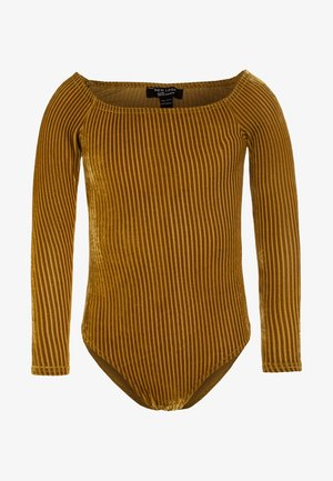 BARDOT BODY - Top sdlouhým rukávem - dark yellow