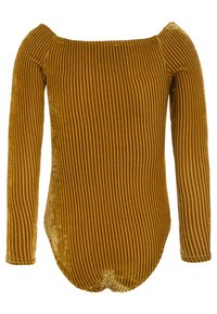 New Look 915 Generation - BARDOT BODY - Langærmede T-shirts - dark yellow - 1