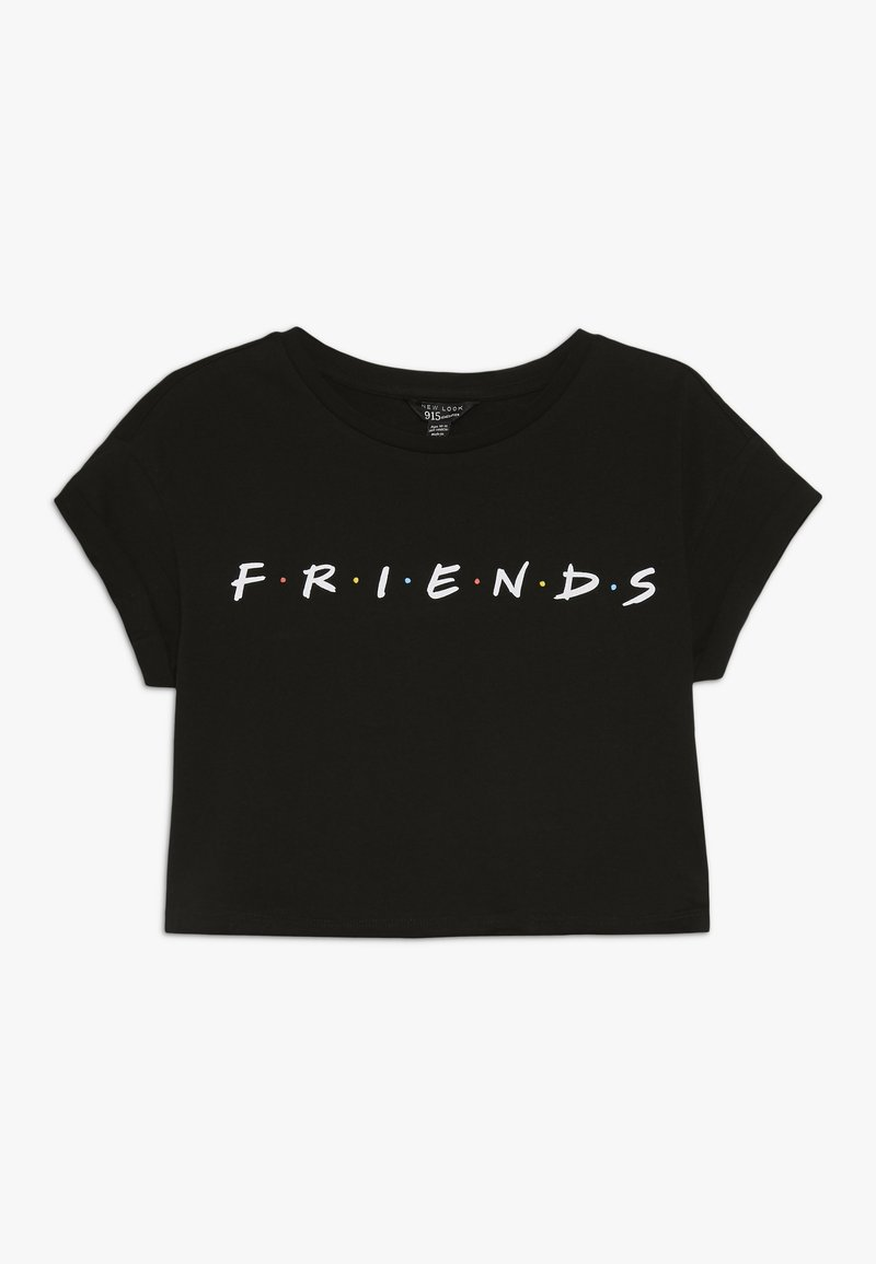 New Look 915 Generation - FRIENDS LOGO TEE - Print T-shirt - black